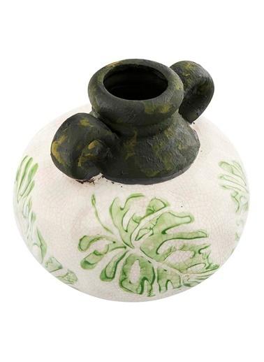 Vitale Seramik Kulplu Küp Küçük Boy Yeşil